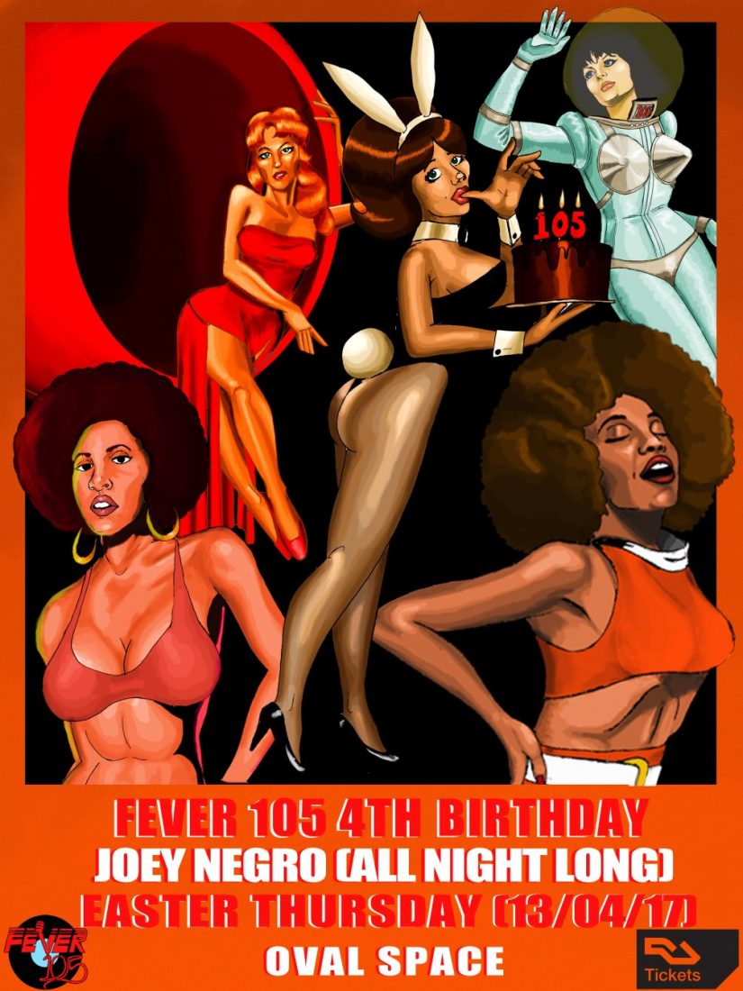 Fever 105 4th Birthday with Joey Negro (All Night Long)