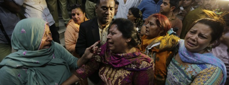 Pakistan suicide attack leaves more than 70 dead