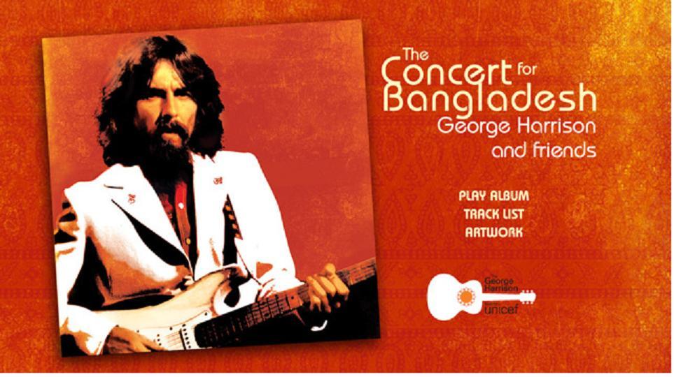 George Harrison: Concert for Bangladesh