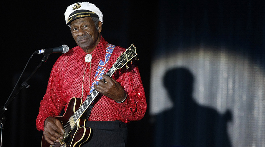Rock And Roll Legend Chuck Berry Passed Away