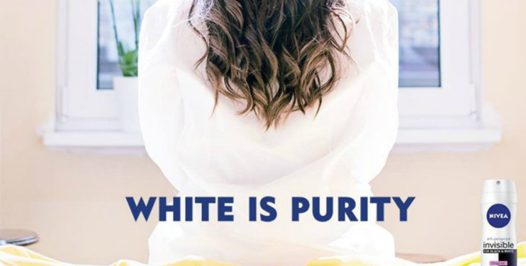 """Nivea Pulls Its Controversial """"White Is Purity"""" Deodorant Ad"""
