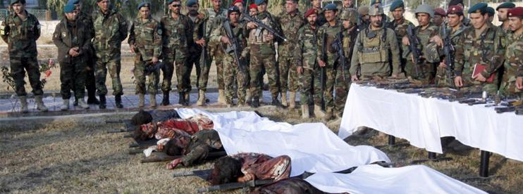 Taliban force killed 150 Afghan soldiers