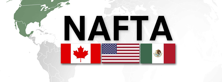 Trump renegotiate with North American free trade  pact