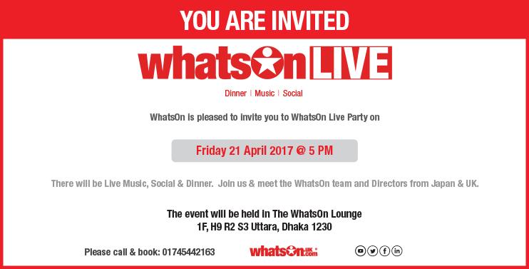 WhatsOn Live
