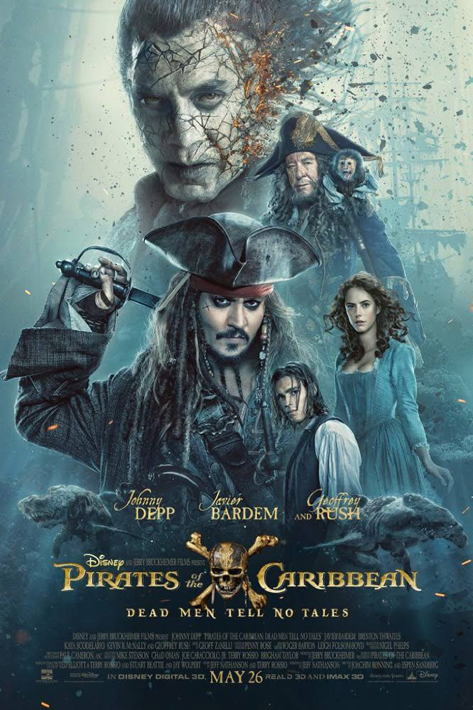 Film: Pirates of the Caribbean: Dead Men Tell No Tales