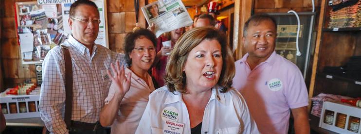 Republican Karen Handel wins Georgia House special election