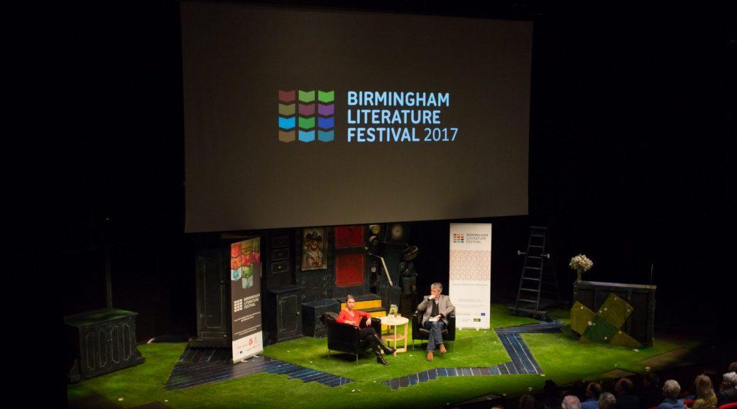 Birmingham Literature Festival 2017