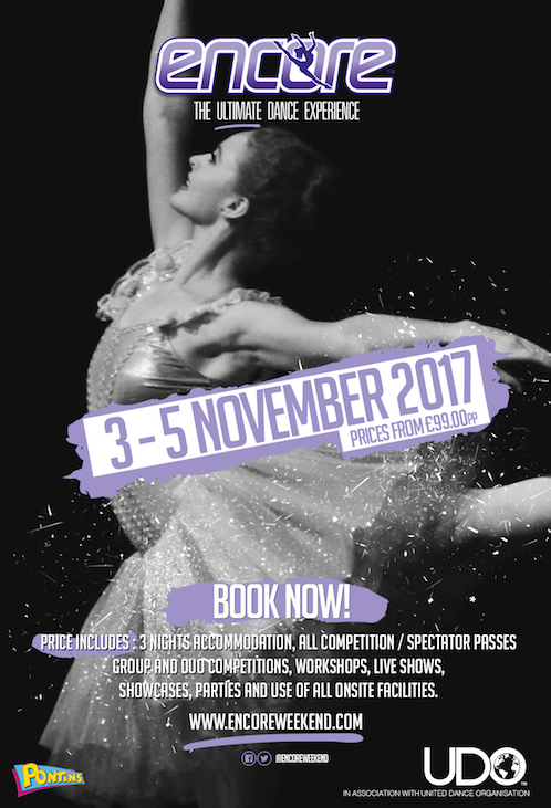 Encore Dance Weekend Returns In November
