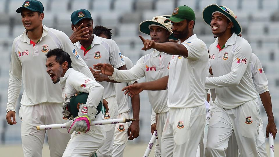 Bangladesh secured an historic first Test victory over Australia