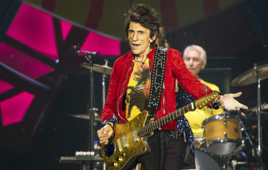 The Rolling Stones'  Wood Healthy for Now