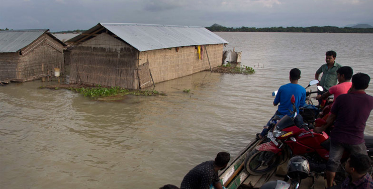 Deadly Flood  in India, Nepal and Bangladesh