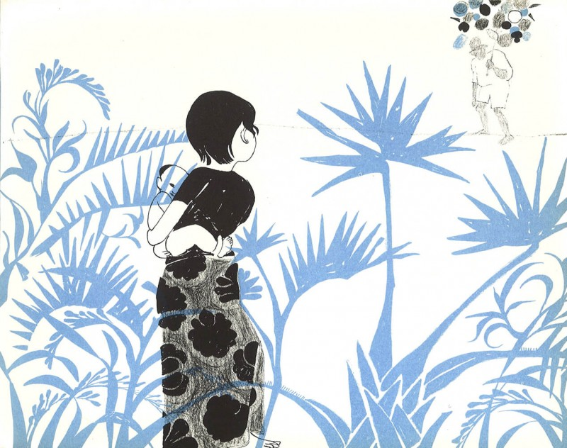Jacqueline Ayer: Drawing on Thailand