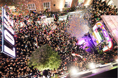 Carnaby Christmas Lights and Party Launch