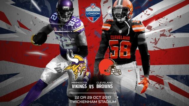 NFL London Games 2017: Minnesota Vikings Vs Cleveland Browns