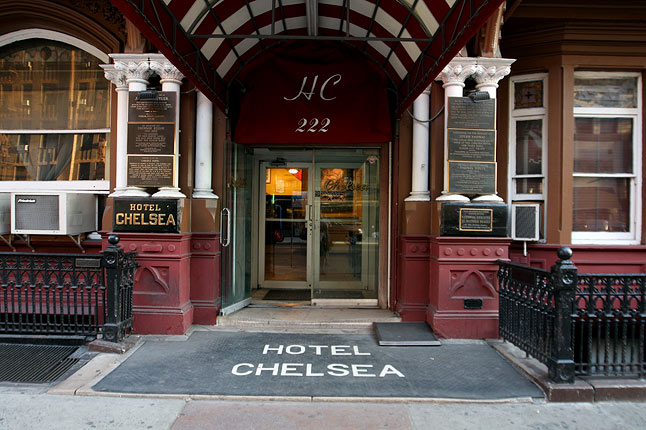 hotel chelsea what 39 s on your what 39 s on news culture. Black Bedroom Furniture Sets. Home Design Ideas