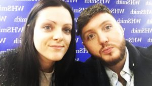 James arthur touches on mental health in emotional new book whatson a 2 hour wait in a cold and windy side street was completely worth it to meet the one and only james arthur i stuck it out all by myself m4hsunfo