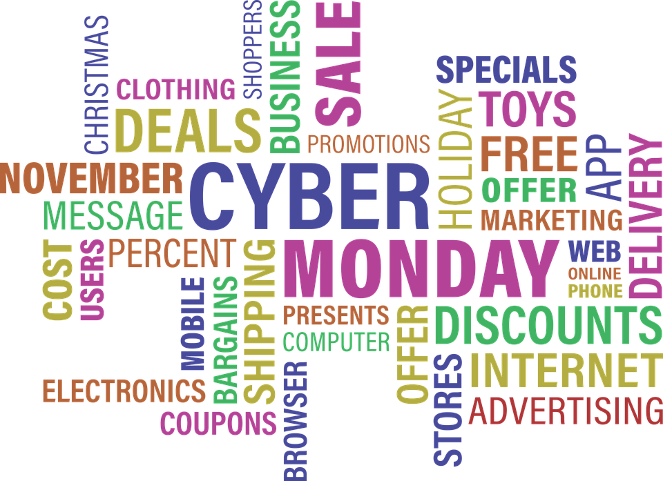 Cyber Monday: Keyboards & Payment Details at the Ready!