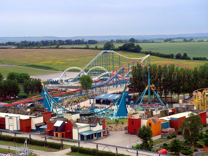 Flamingo Land Theme Park and Zoo, Yorkshire