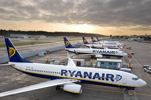 Pilots of Ryanair Based in Ireland to Stage One-Day Strike Next Week