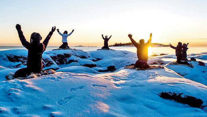 Yoga on Ice