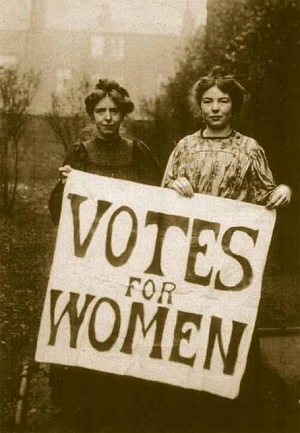 Women's History Month in East London 2018: Celebrating Women's Right to Vote