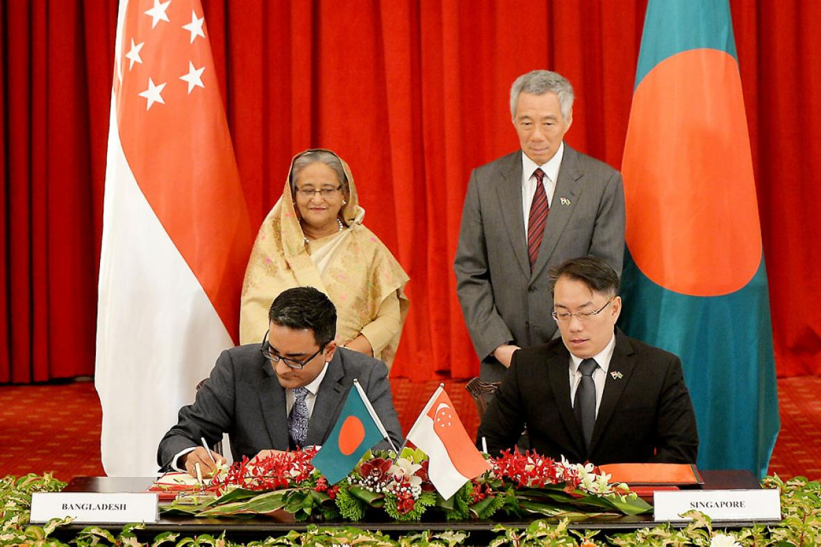 Bangladesh and Singapore Sign Multiple MoUs to Boost Relation and Cooperation