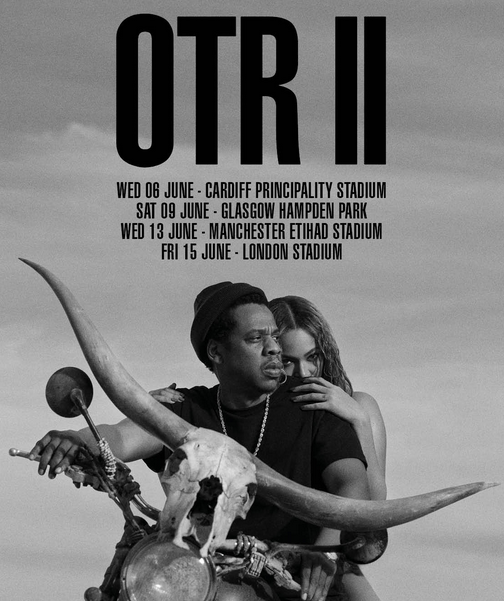 Beyoncé and Jay-Z Partner-Up for OTR II Tour