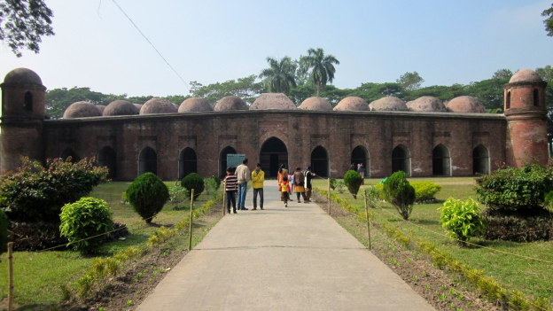 Bagerhat, a Place of Historical Interest.