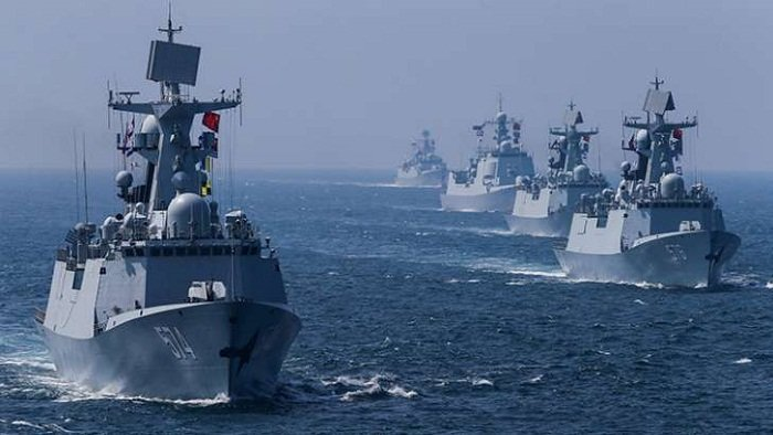 Chinese Navy Challenged Australian Warships