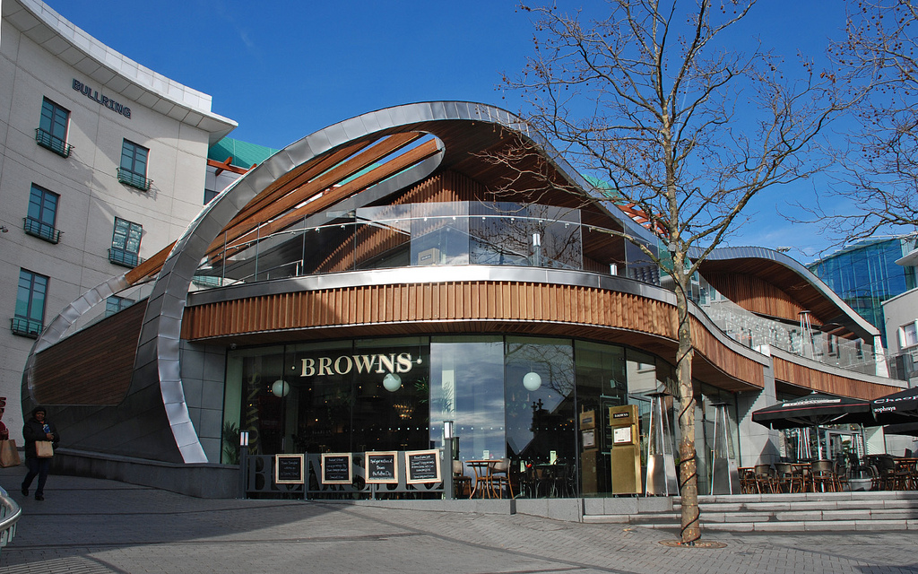 Lunchtime Menu – Browns, ST Martins Square, Birmingham