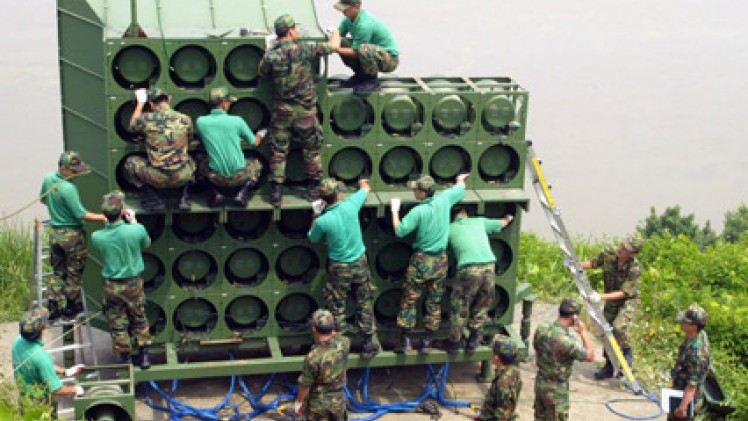 South Korea Switches Off Loudspeaker Broadcasts into North