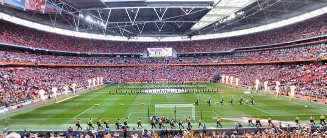 The FA Cup Final in London
