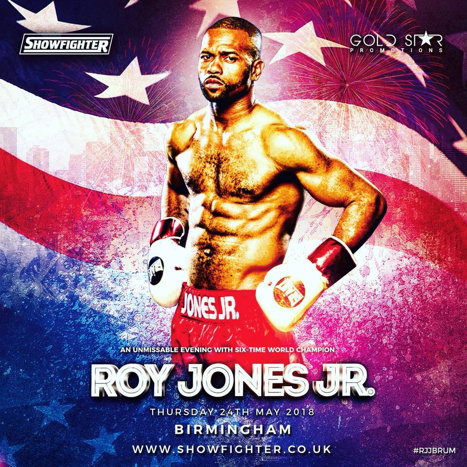 Boxing Legend Roy Jones Jr to Appear in Exclusive VIP Event