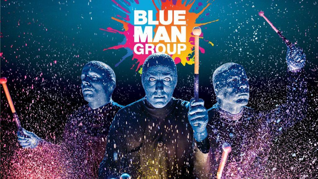 Blue Man show