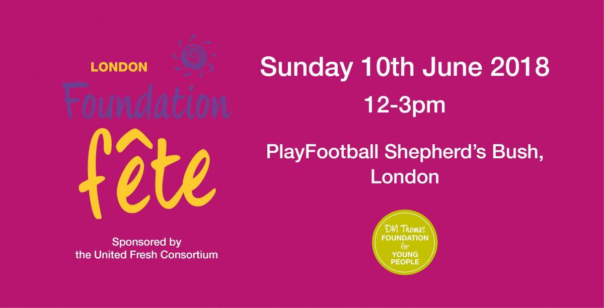 London Foundation Fête, Sunday 10th June