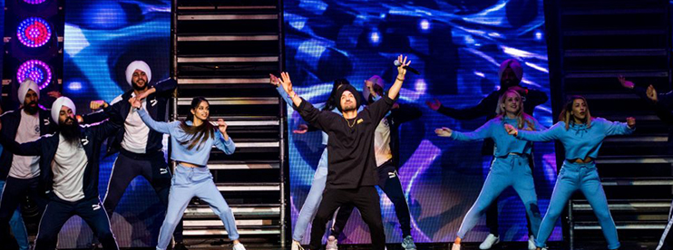 Diljit Dosanjh Acquires Status as Biggest Selling Indian Artist for Arena Birmingham