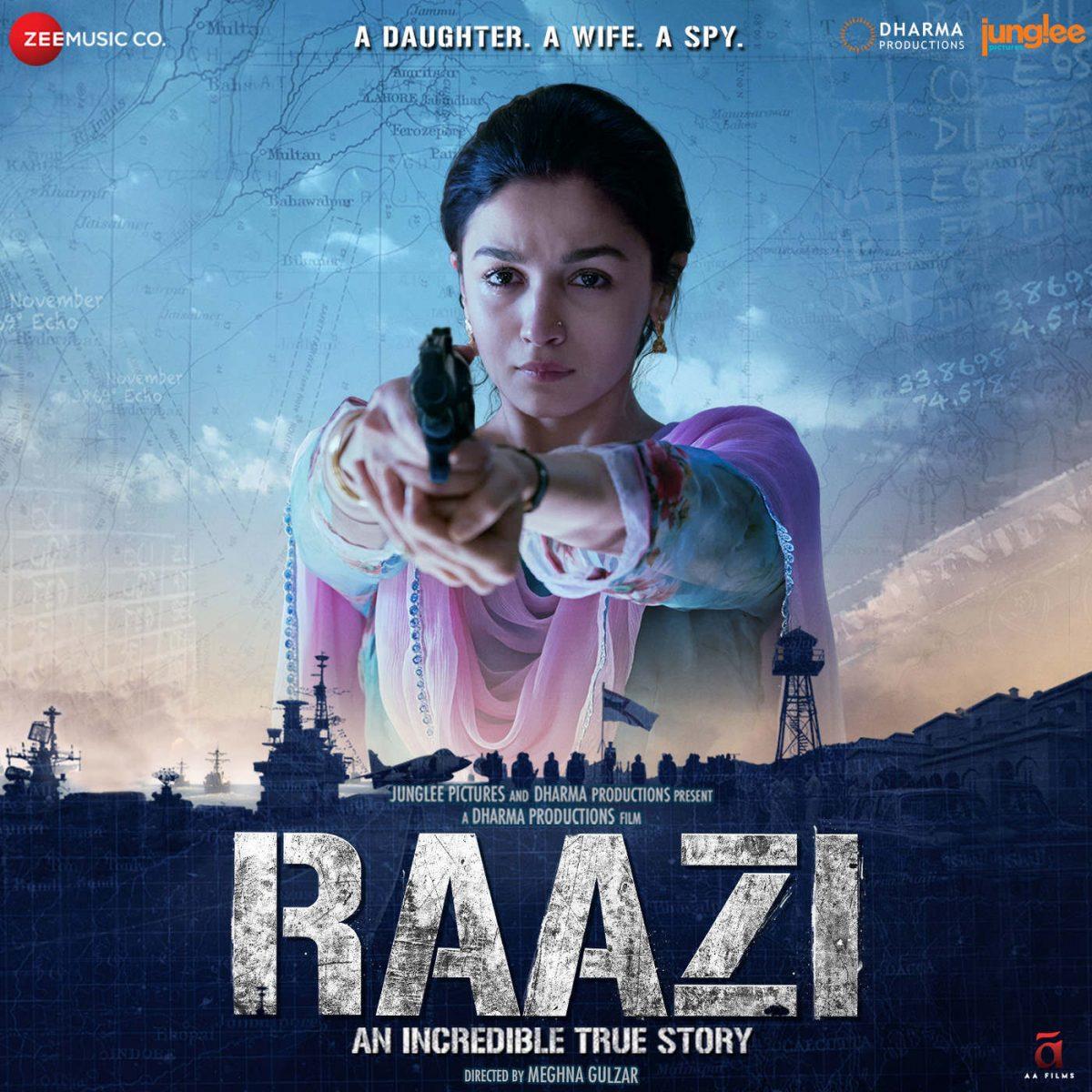 Shankar-Ehsaan-Loy –  Raazi