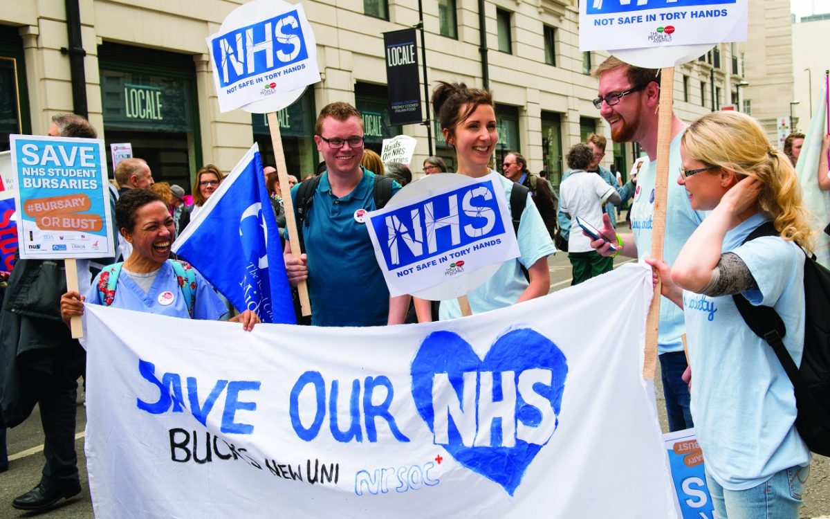 Household Tax Rises Needed to Save the NHS