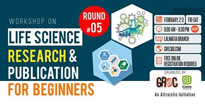 Life Science Research & Publication for Beginners