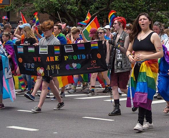 Greenwich Village Alive With Color During Pride Parade