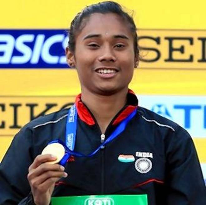 Hima Das First Indian Woman to Win Gold in World U-20 Athletics Championship