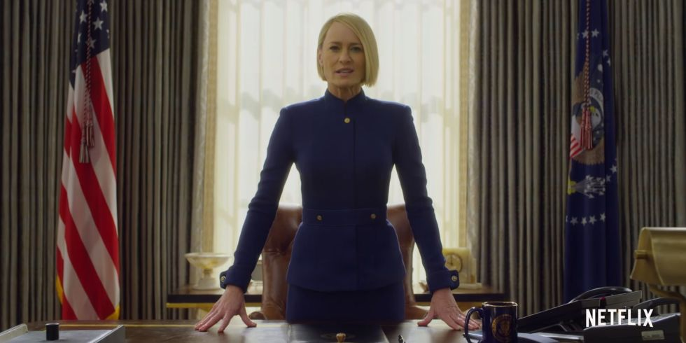 House of Cards Season 6: New Teaser Trailer with President Claire Underwood