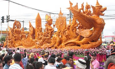 International Wax Sculpture and Candle Procession