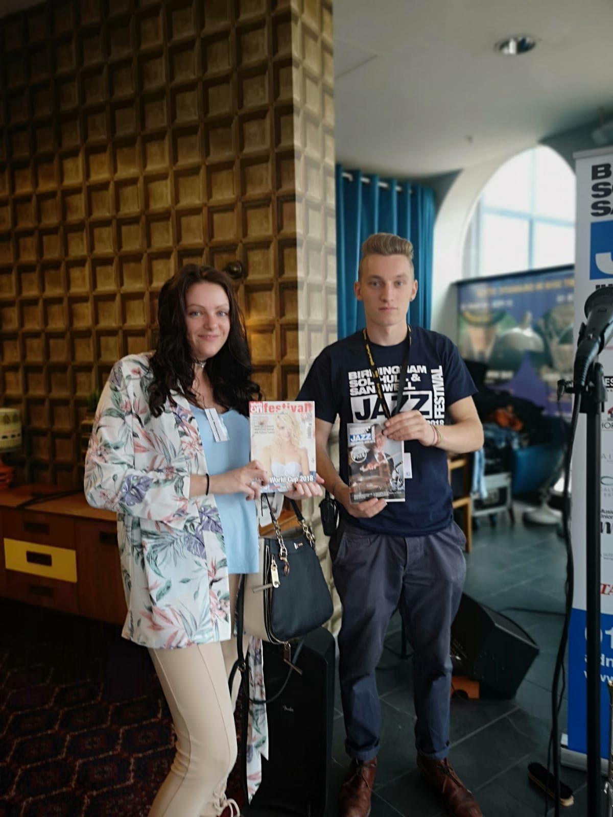 Birmingham, Solihull & Sandwell Jazz Festival Launch