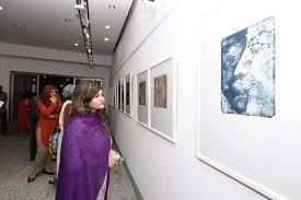 Group of Nine Artists Painting Exhibition