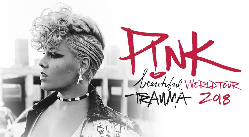 Pink Announces  Beautiful Trauma World Tour date