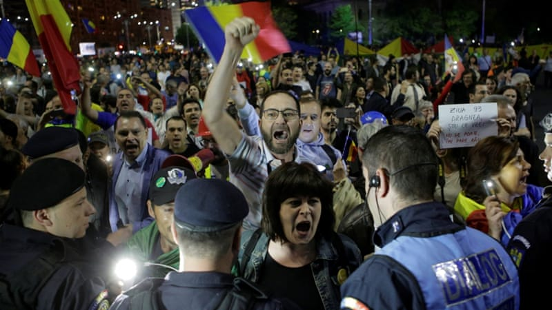 EU Facing Request to Step in after Romania Protests Led to Violence