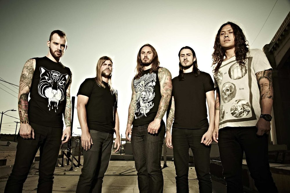As I Lay Dying Announce Europe Tour