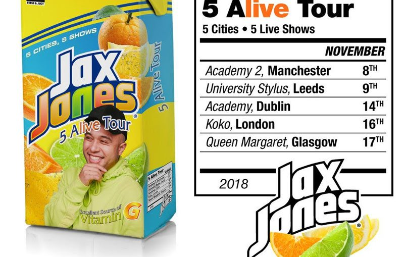 Jax Jones Announces UK and Ireland Tour