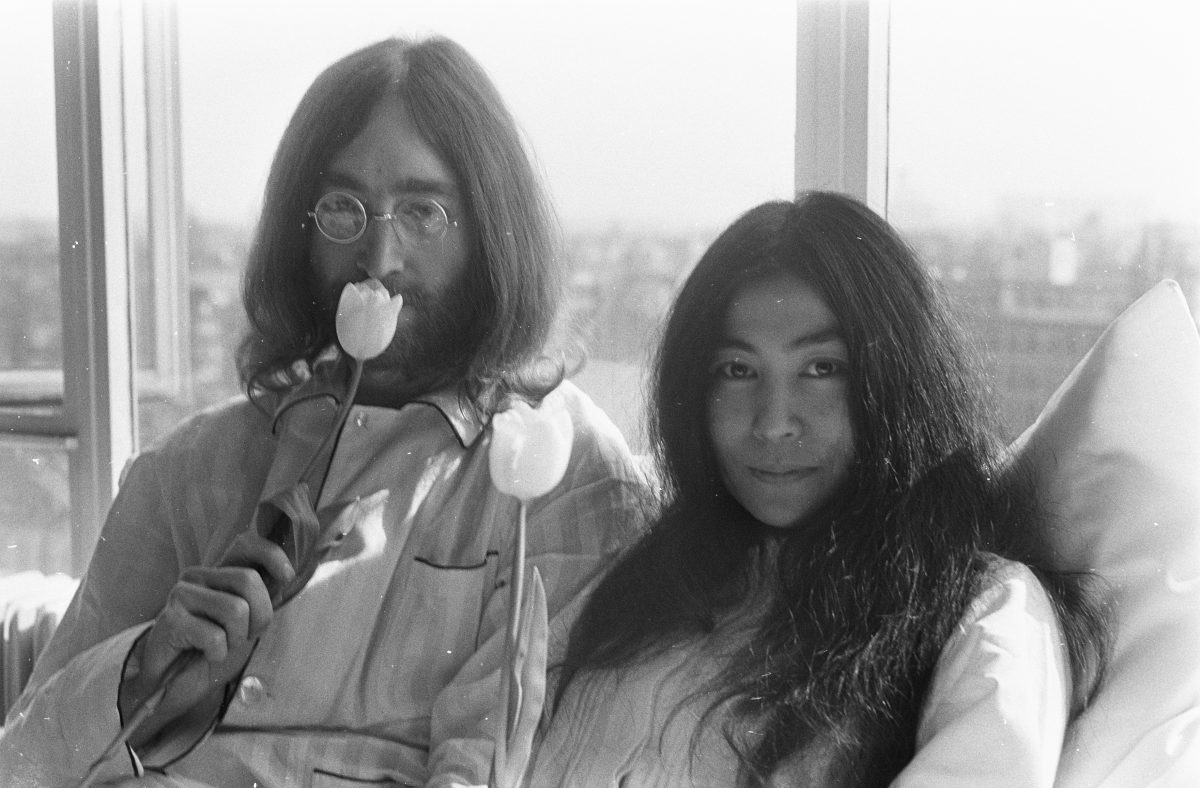 """Re -""""Imagine"""" John Lennon and Yoko Ono"""